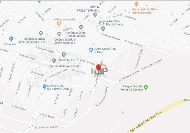Casa com 2 dormitórios à venda, 89 m² por R$ 112.483,50 - Jardim Vitória - Cianorte/PR - Foto 4