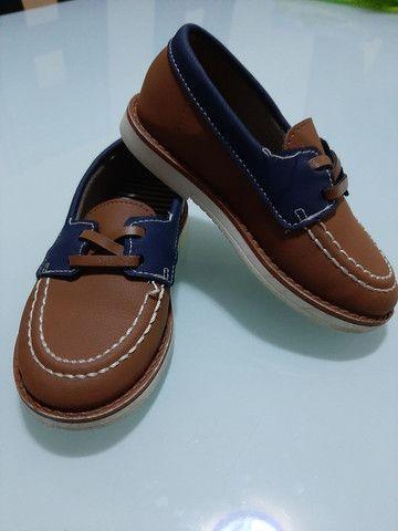 Sapatos Infantil menino 23 ao 25 *ACEITO CARTÃO*