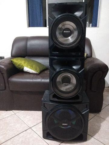 Conjunto de Caixas+ Subwoofer 3000 Watts Sony GTR555