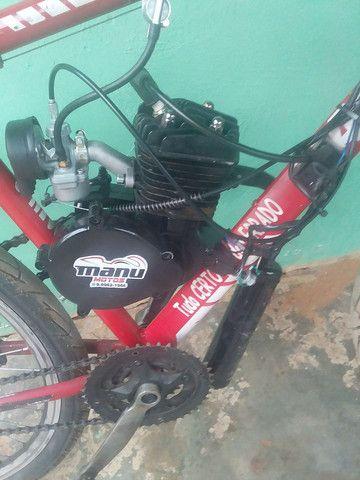 Bike motorizada 80cc Semi nova - Foto 2