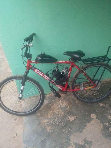 Bike motorizada 80cc Semi nova - Foto 3