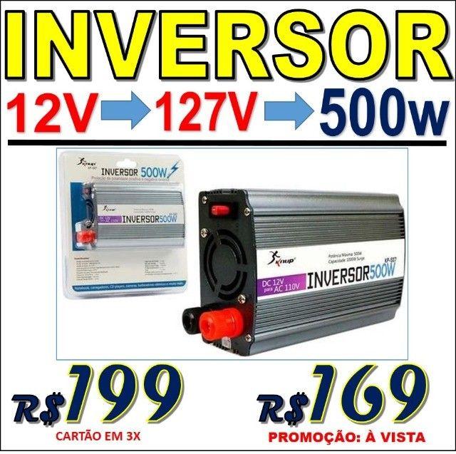 Inversor Conversor de Energia, voltagem 12 ou 24V para 127V ou 220V Várias potências - Foto 3