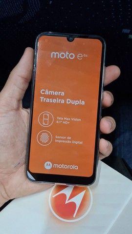 Motorola E6s 32G NOVO NA CAIXA (Azul Navy) - Foto 5