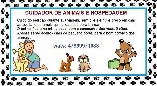 Hospegagem domiciliar e Cuidador para cães