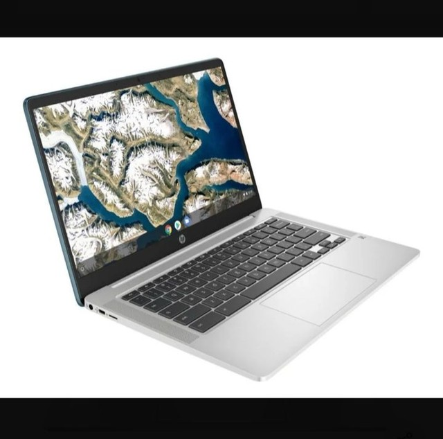 "HP Chromebook x360 14"" (32GB, Intel Celeron, 1.1 Ghz, 4GB) Notebook-Branco - 7PD76UA - Foto 2"