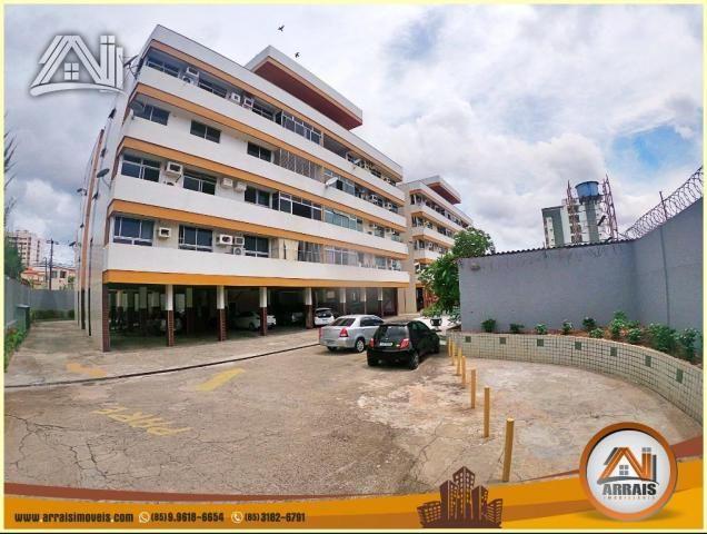 Apartamento à venda, 117 m² por R$ 370.000,00 - Vila União - Fortaleza/CE - Foto 2
