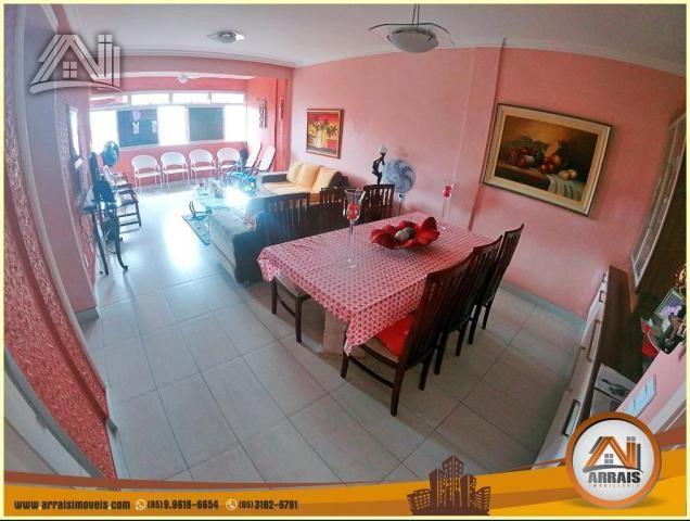Apartamento à venda, 117 m² por R$ 370.000,00 - Vila União - Fortaleza/CE - Foto 3