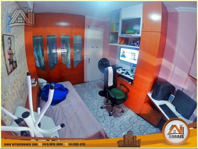 Apartamento à venda, 117 m² por R$ 370.000,00 - Vila União - Fortaleza/CE - Foto 16