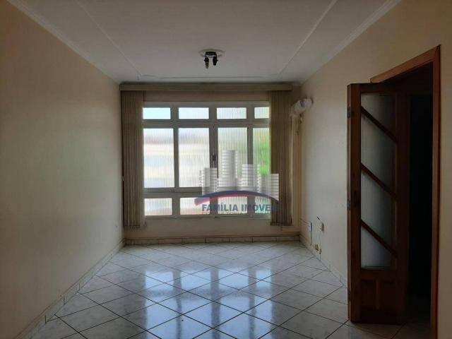 Apartamento com 2 dormitórios para alugar por R$ 1.799,98/mês - Encruzilhada - Santos/SP - Foto 2