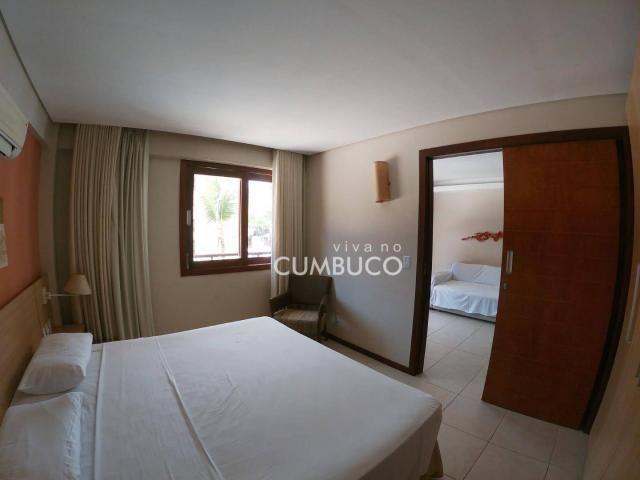 Apartamento com 1 dormitório à venda, 46 m² por R$ 285.000,00 - Cumbuco - Caucaia/CE - Foto 7