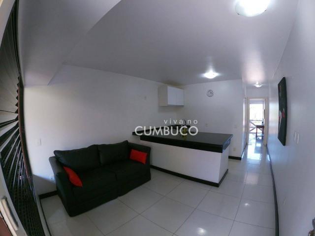 Flat com 1 dormitório, 37 m² - venda por R$ 200.000,00 ou aluguel por R$ 2.200,00/mês - Cu