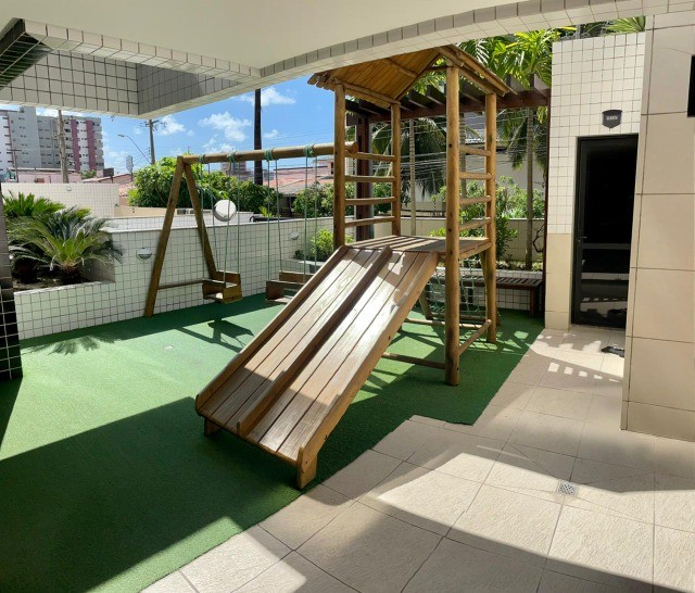 Apartamento na Jatiuca, 110m², 3/4-2 suites, varanda integrada - Foto 13