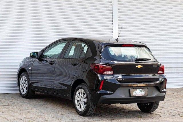 Chevrolet onix hatch at turbo 1.0 2021 *IPVA 2021* - Foto 6