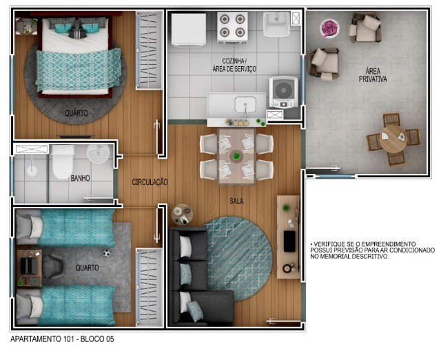 3* Casa de Bourbon Apartamento próximo ao shopping Rio Anil  - Foto 4