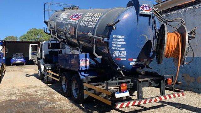 Caminhão Limpa Fossa E Hidrojato De 16 000 Litros - Foto 2