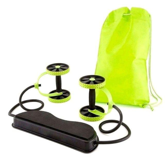 Kit de Treino com Rodas Multifuncionais Fitness