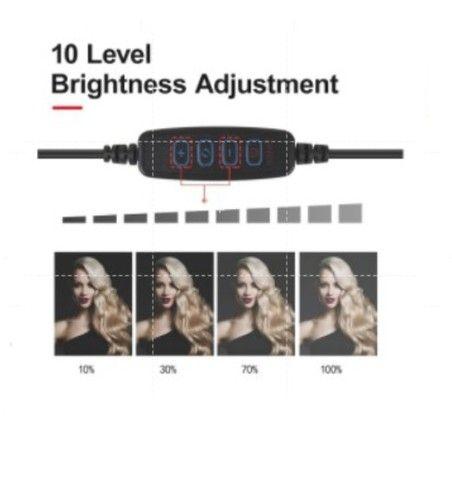Ring Light 10 Polegadas (26 cm) - C/Tripé de 2,10 m ajustável - Foto 3