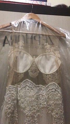 Vende-se Vestido de Noiva  - Foto 5