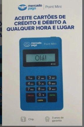 Maquininha Point Mini - A Máquina De Cartão Do Mercado Pago - Foto 2