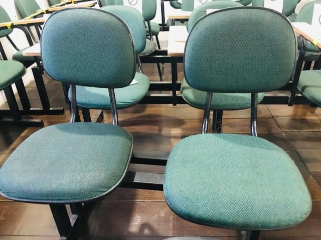 logarina de 3 ou 2 lugares - cadeiras - longarina de escritório - Foto 4