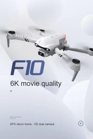 Brinquedo Drone f10 GPS câmera 6K Wifi FPV  - Foto 4