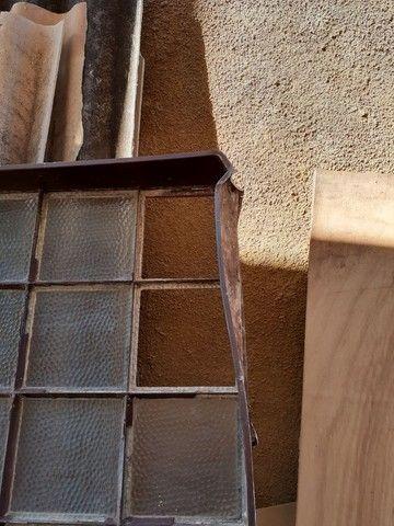 Vitral em moldura de ferro e vidro - Foto 3