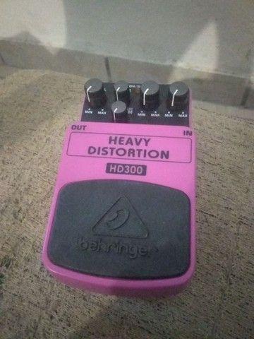 pedal distorção Behringer - Foto 2