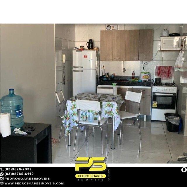 (MOBILIADO) Apartamento com 2 dormitórios à venda, 60 m² por R$ 360.000 - Tambaú - João Pe - Foto 3