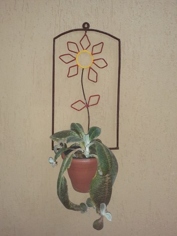 Artesanato - Porta vaso - Foto 4