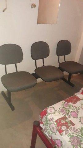2 Cadeiras longarinas . - Foto 2