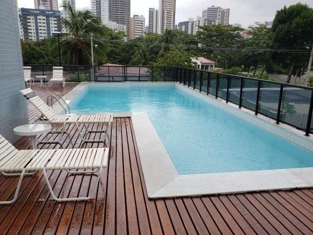 Rio Arauá* - Cabo Branco - 01 por andar - Andar alto - 220 m² - 04 stes + DCE - Ambientado - Foto 2