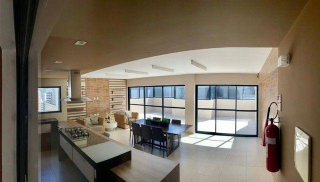 Apartamento na Jatiuca, 110m², 3/4-2 suites, varanda integrada - Foto 12