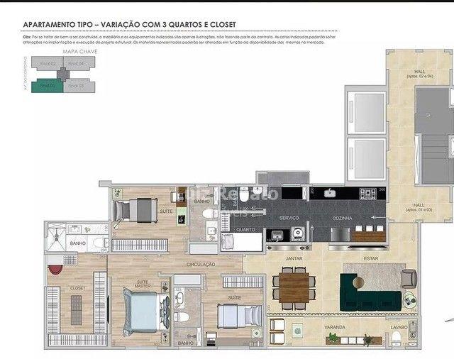 Apartamento à venda 4 quartos 2 suítes 4 vagas - Santa Efigênia - Foto 4