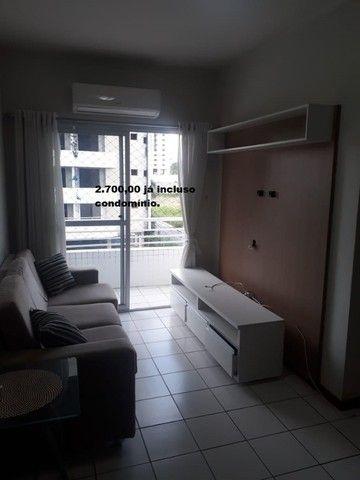 Apartamento com 2 quartos sendo 1 no Aleixo 100% mobiliado.,,;,//- - Foto 7