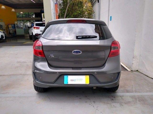 Ford Ka Se Plus 1.5 Automatico 2020 Cinza  - Foto 5