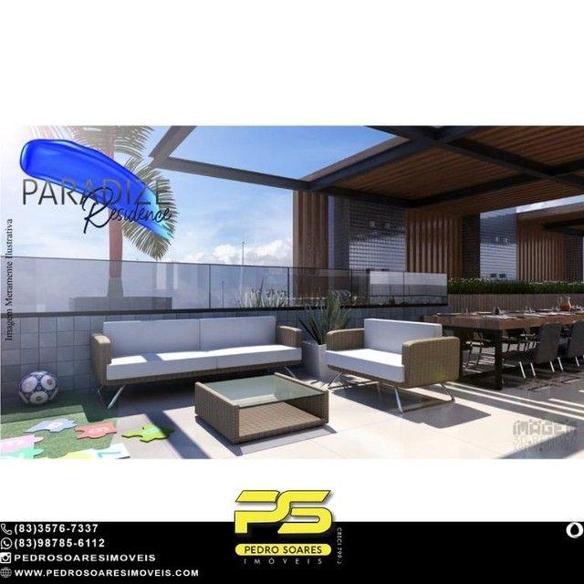 Apartamento com 1 dormitório à venda, 35 m² por R$ 195.000 - Aeroclube - João Pessoa/PB - Foto 3
