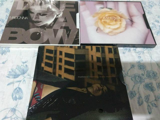 Madonna singles cds take a bow bedtime story nothing really matters
