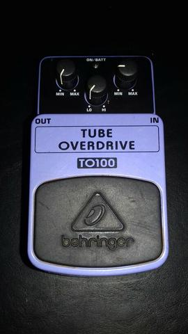 Pedal tube overdrive TO100