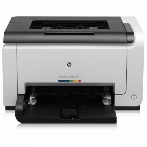 Impressora hp laser color 1025