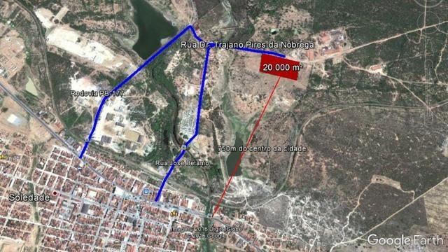 Área Para Loteamento ou Condomínio Em Soledade-PB