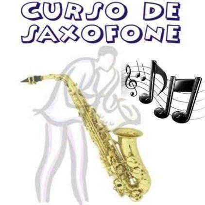 Saxofone Completo Curso Em 2 Dvds Video + De 300 Partituras