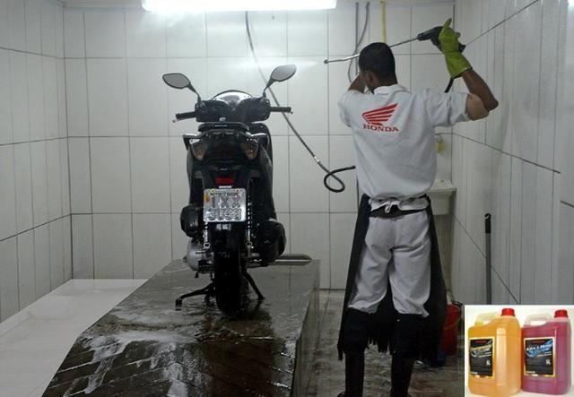 Lavagem especializada para motos Honda!!!