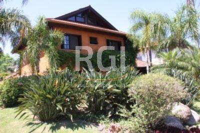 Casa de condomínio à venda com 5 dormitórios em Belém novo, Porto alegre cod:FE3243