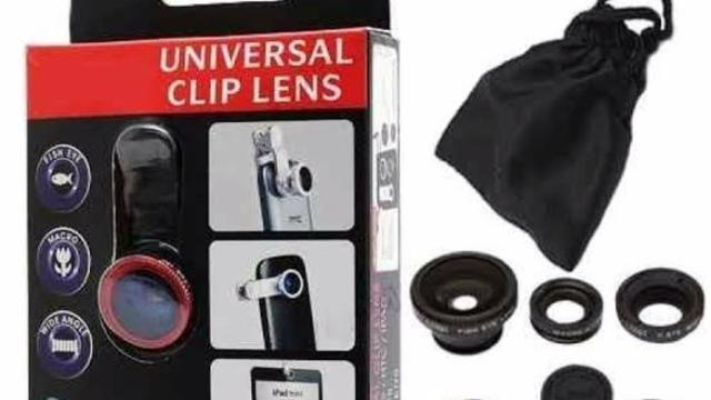 99707320911 15 kits lente olho de peixe 3 em 1 universal - Celulares e telefonia ...