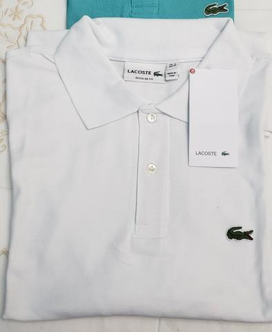 2bfb9a42939 Camiseta Lacoste Branca Tam XL - Roupas e calçados - Santa Rita ...