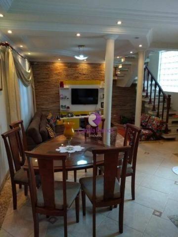 Sobrado com 3 dormitórios à venda, 160 m² - Jardim Imperador - Suzano/SP