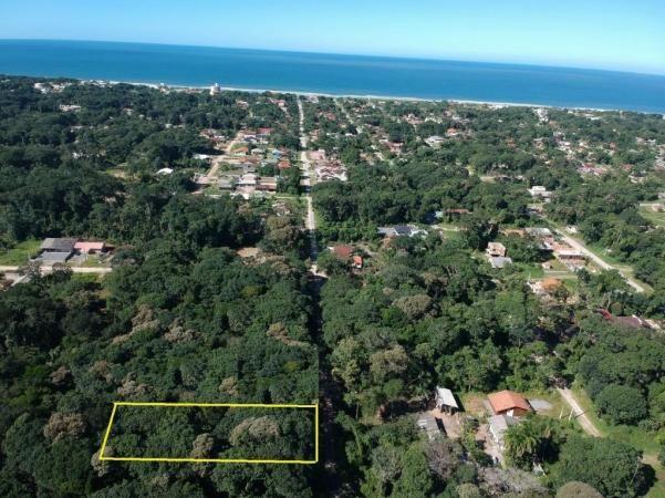 Terreno à venda, 384 m² por r$ 42.000 - praia das palmeiras - itapoá/sc - Foto 2