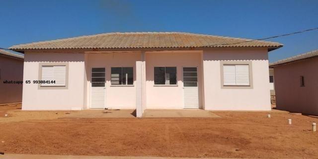 Casa para venda em várzea grande, paiaguas, 2 dormitórios, 1 banheiro, 2 vagas - Foto 4