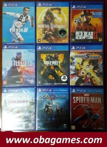 Jogos PS4 Novos Lacrados
