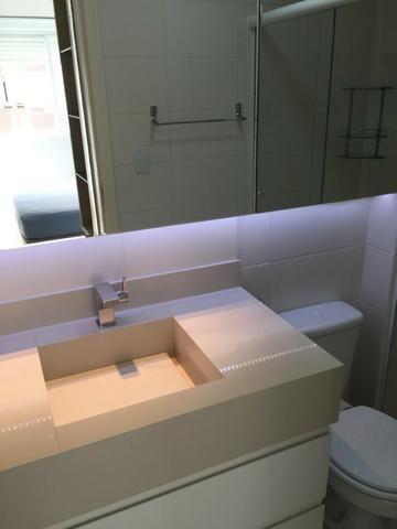 Apartamento de 02 dormitorios, com ampla sacada -Saco Grande - Foto 6